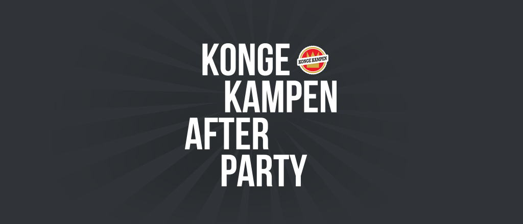 Kongekampen Afterparty logo